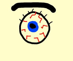 big eye probably needs eyedrop soon