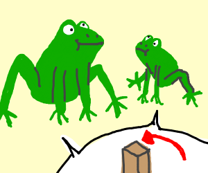 Frogs want top