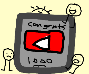 youtube play button in a box