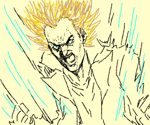 rick going super-sayian