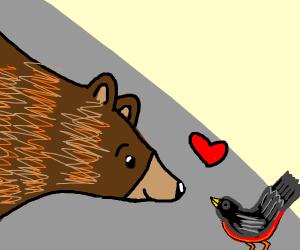 The Bear and Bird