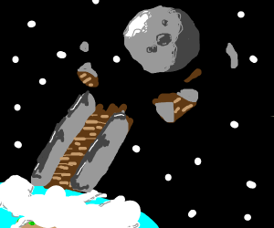 Unsuccessful stairway to the moon
