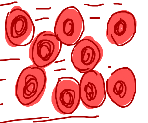 Red bood cells in motion