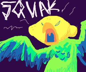 Evil lemon bird