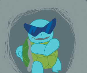gangster squirtle