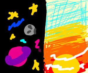 SPACE vs SUNRISE