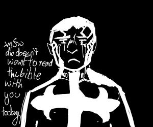 Sad bishop