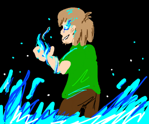 Shaggy in 0.1 percent of his power