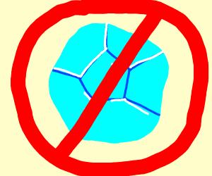 Not a minecraft diamond