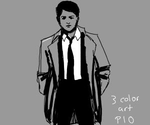 3 color art P.I.O