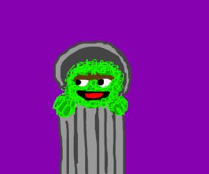 Stinky trash man