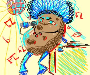 Cool disco potato dude