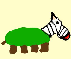 Zebra crossed with Turtle