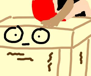Anxious table