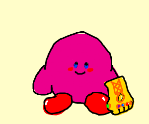 Kirby has all the Infinity Stones