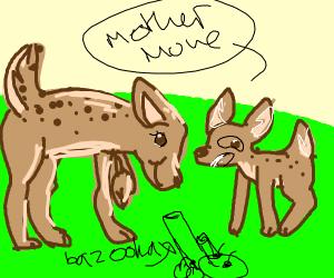Bambi in a nutshell