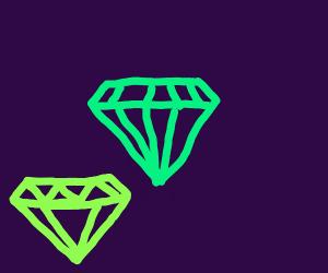 Diamonds of exotic color