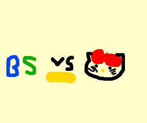 Bs vs hello kitty