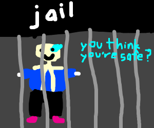 San's goes to jail