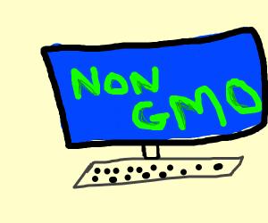 Non-gmo computer