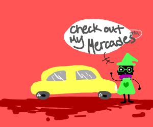 Ralsei shows you his Mercedes Benz!!!