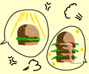 Awesome discussion over burgers