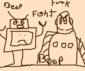robot fight!!