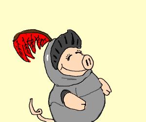 Sir Piggy the Knight