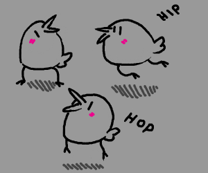 hiphop bird