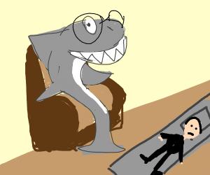 A shark psychiatrist