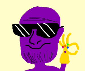 epic gamer thanos