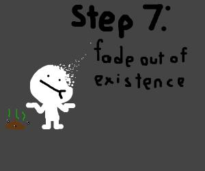Step 6: Unsanitary pizza caused diarrhea