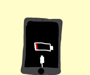MAH PHONE DIED
