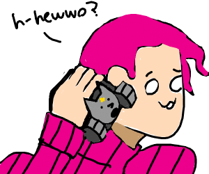 doppio uses sheer heart attack as a phone