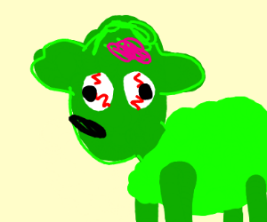 Zombie Shaun the Sheep