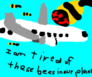 Snakes on a Plane 2: Bees on a Plane