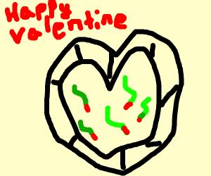 sending valentines filled w/ snakes