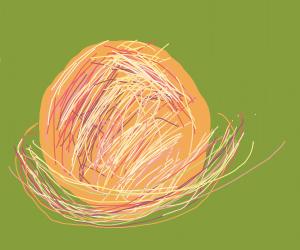 Gleeful Saturn uses rings as hula hoop!