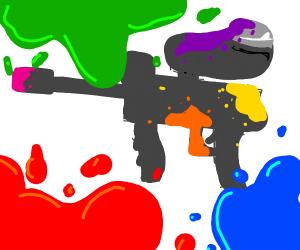 Paintball war