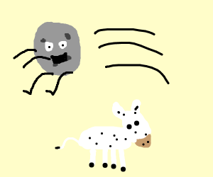the moon jumps over the cow