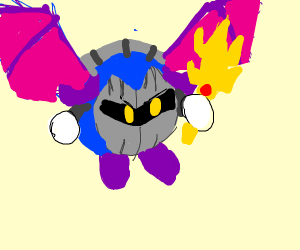 Meta Knight is ultimate Super Smash character