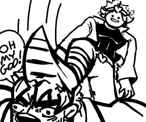 Dio (JJBA) beats up old man
