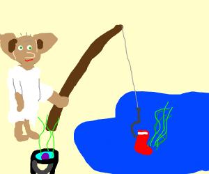 Fishing Smelly Socks