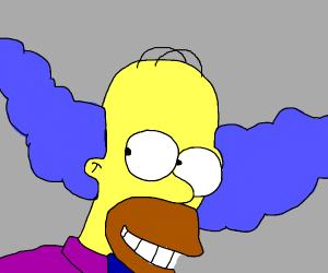 Curse you, homer clown!