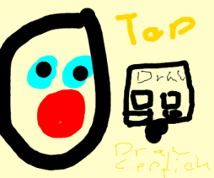 Man suprized his drawception entry got top