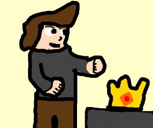 a man found a crown
