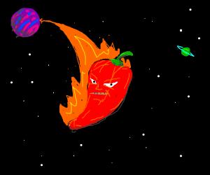 Pepper from an Alien Planet