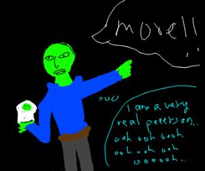 green man need more