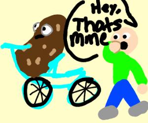 Potato stealing your bike