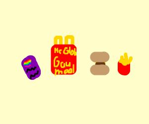 A nice gay meal